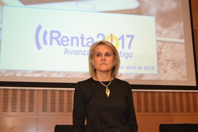Georgina de la Lastra, delegada especial en Castilla y León de la AEAT./ EP