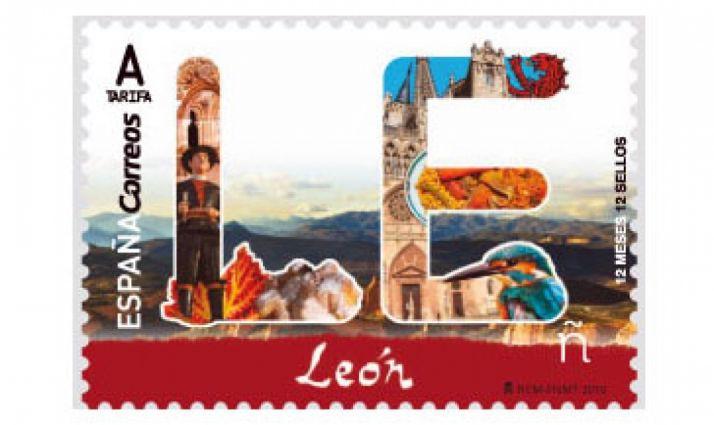 Foto 1 - Un error de Correos coloca la catedral de Burgos en un sello dedicado a León