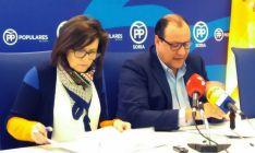 Marimar Angulo y Pedro Antonio Heras este lunes. /PP
