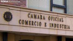Imagen de la sede de la Cámara de Soria. /SN