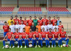 La plantilla 2017-18 del Sporting Uxama. SC Uxama.