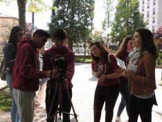 El equipo de trabajo del documental.