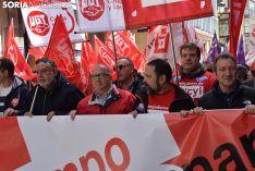 Manifestación del Primero de Mayo 2018 en Soria.
