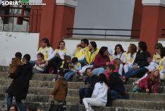 Una imagen de la tarde de este sábado en el coso de San Benito. /SN