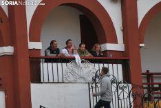 Una imagen de esta tarde de sábado en el coso de San Benito. /SN