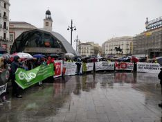 Manifestación animalista en Madrid el pasado febrero. @equomadrid