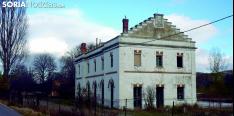 La estación de RENFE en Ágreda, abandonada./SN