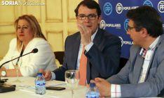 Fernández Mañueco, este miércoles entre De Gregorio y Peregrina
