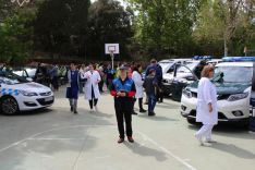 Foto 5 - De Gregorio subraya en el CEE Santa Isabel la importancia en la educación para salvar vidas