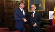 Carlos Martínez y Pedro Pisonero. /Ayto.