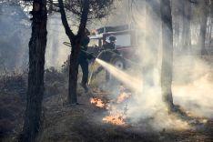 Incendio en Castilla y León.