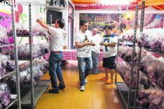 Tajadas en una cuadrilla durante los Sanjuanes. Soria Noticias.
