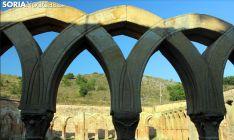 Imagen del claustro de San Juan de Duero. /SN