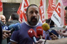 Javier Moreno, de CCOO. /SN