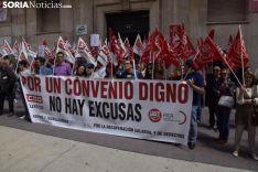 Una imágen de la concentración este martes / José Herrero