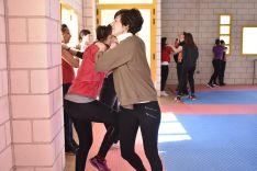 Curso de defensa personal para mujeres del CAEP. /SN