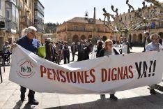 Manifestación por las pensiones en Soria. /SN