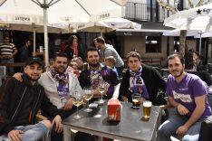 Aficionados del Real Valladolid en Soria. /SN