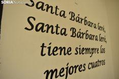 Imágenes de la cuadrilla de Santa Bárbara. /EM