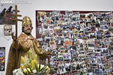 Imágenes de la cuadrilla de La Cruz y San Pedro. /EM