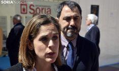 Isabel Tennenbaum y Javier Muñoz este miércoles. /José Herrero