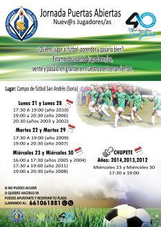 Foto 2 - El San José busca nuevos/as jugadores/as con unas puertas abiertas