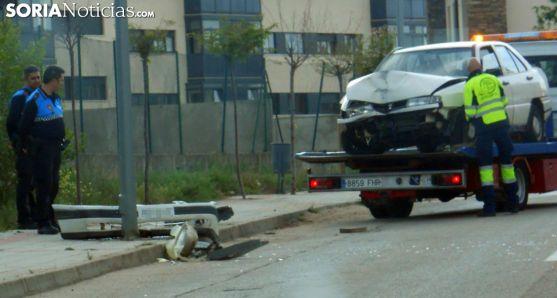 Estado del vehículo tras el siniestro. /SN