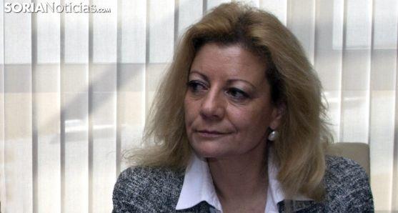Ascensión Pérez, presidenta de AMFAR en Soria. /Freddy Páez