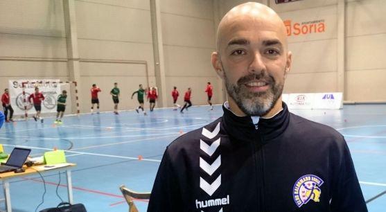 Daniel Bandrés, técnico del BM Soria. /BMS