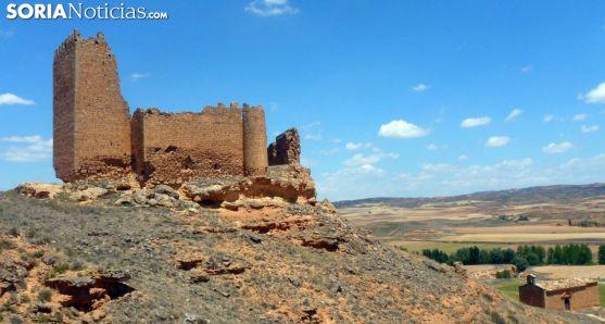 Castillo de La Raya, en Monteagudo de las Vicarías.