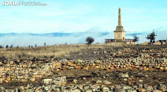 Una imagen del Yacimiento de Numancia, en Garray. /SN