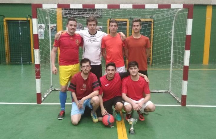 Equipo de fútbol sala de Quintana.