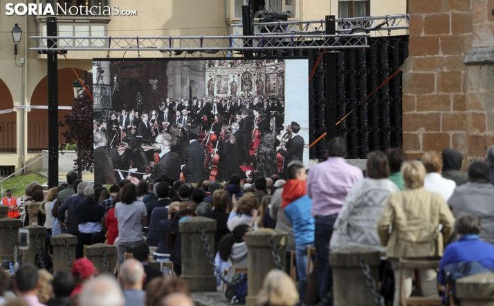 Una de las imágenes del concierto de este domingo. /SN