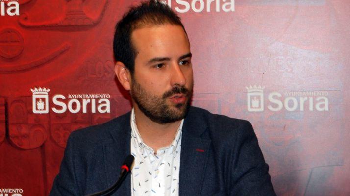 Ángel Hernández, concejal de Deportes. /Ayto.