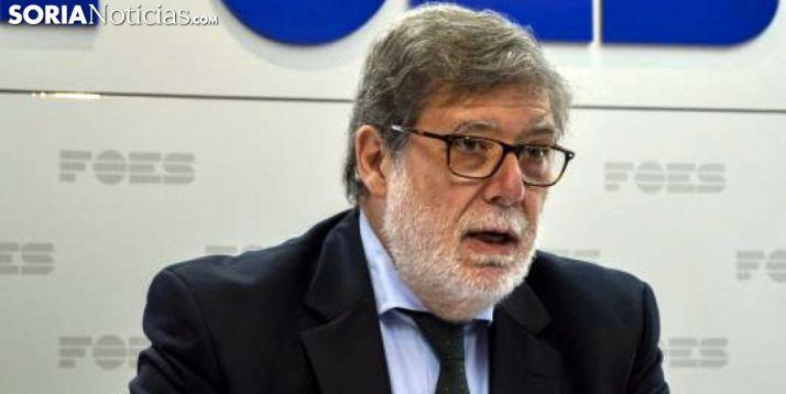 Santiago Aparicio, este miércoles. /SN