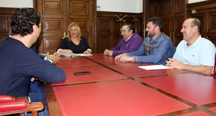 Encuentro en la sede de la Subdelegación entre responsables estatales ASAJA y AVIMON.