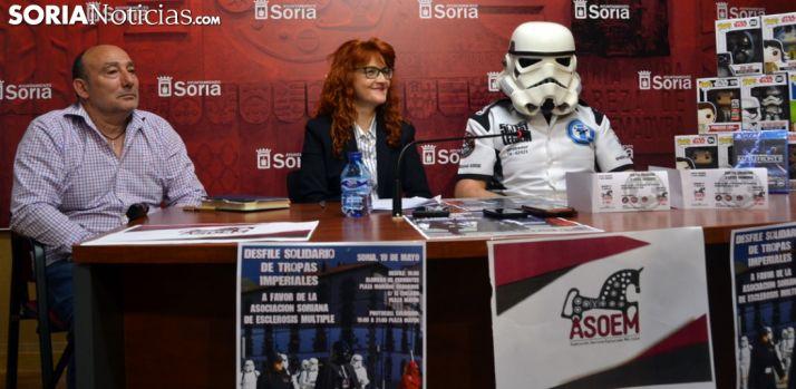 Juan Pérez (izda.), Ana Calvo y Víctor Robador. /SN