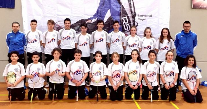 Foto 1 - El Club Bádminton Soria afronta las últimas dos competiciones de la temporada.