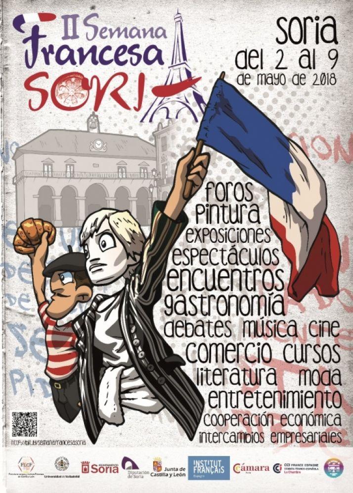 Foto 2 - La II Semana de Francia en Soria se inaugura este miércoles