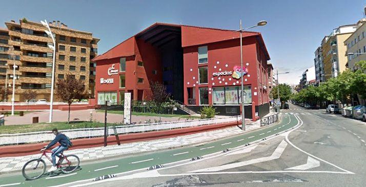 El Espacio CyL, en la capital, en el centro Bécquer. /GM