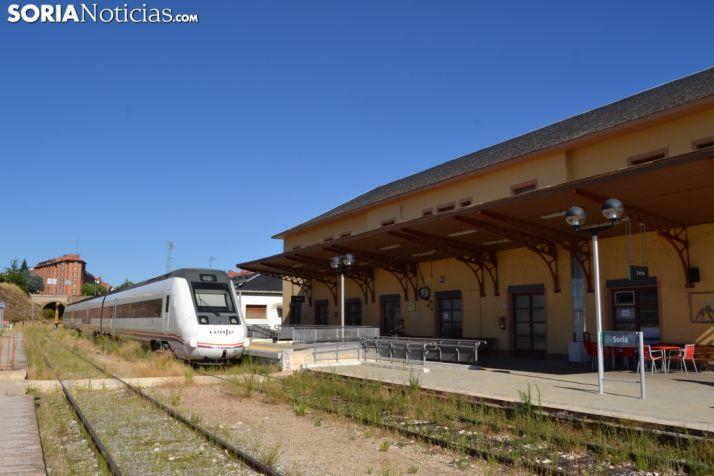 Foto 1 - Los trenes entre Soria y Torralba se verán afectados por obras entre el 30 de mayo y el 8 de junio