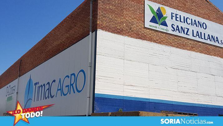 Foto 1 - Feliciano Sanz Lallana, todos los productos para el campo soriano todo el año