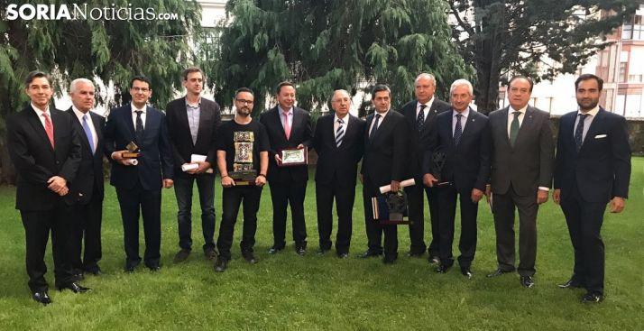 Los galardonados en la pasada edición. /SN
