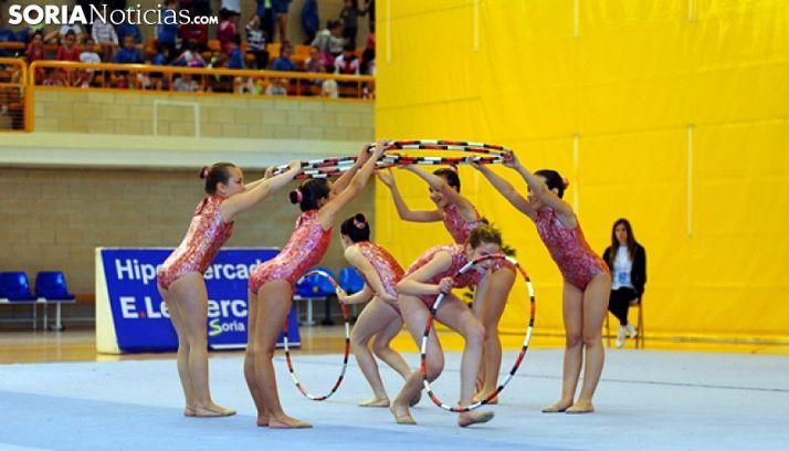 Una prueba de gimnasia en Los Pajaritos. /SN