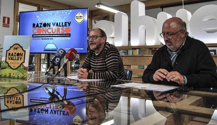 Roberto Ortega (izda.) y Amancio Martínez. /EH