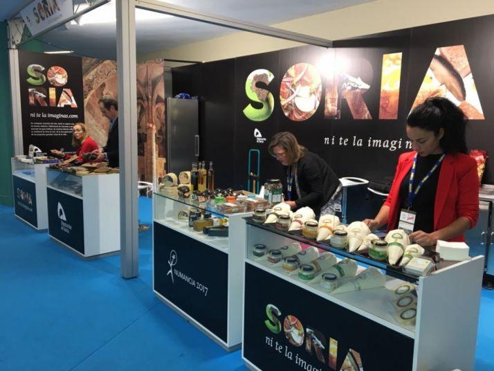 Los productos sorianos se están conociendo en diversas ferias, de la mano de la Diputación Provincial. /DIP.