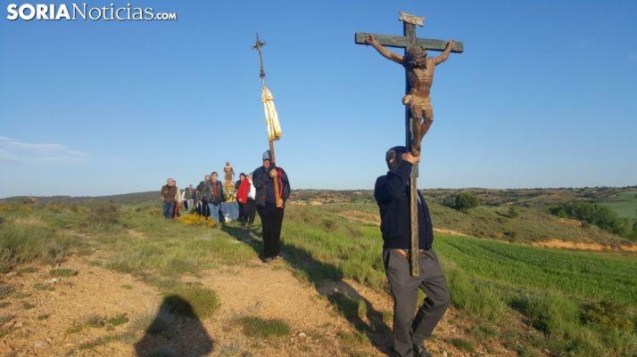 Imagen de la festividad en Quintanilla de Tres Barrios. /LTG