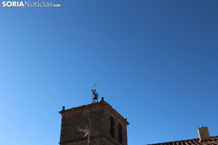Cielo despejado en Cubo de la Solana (Soria).