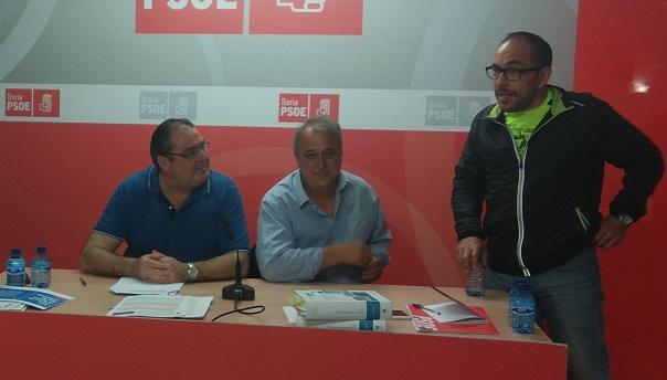 Foto 1 - La ley de Contratos Públicos, objeto de un curso en el PSOE de Soria
