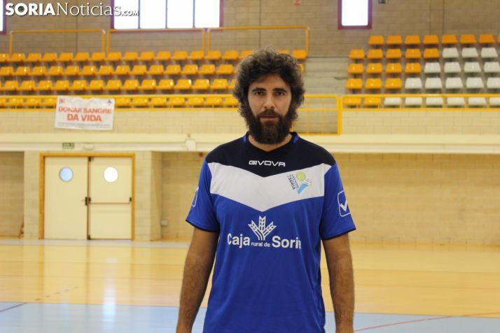 Manuel Sevillano renueva como entrenador-jugador del Río Duero